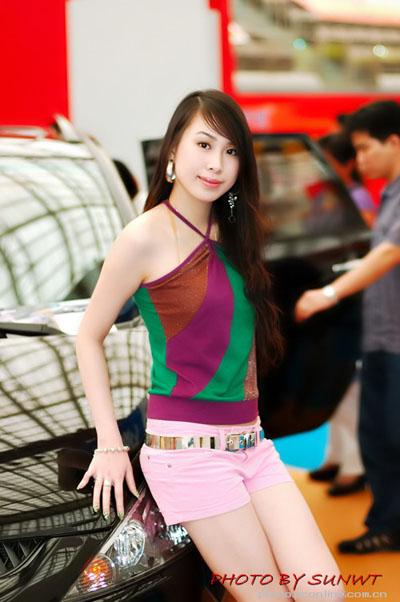 2006广州国际琶洲车展advanti的模特,2007珠海赛车节车模,2007丰田